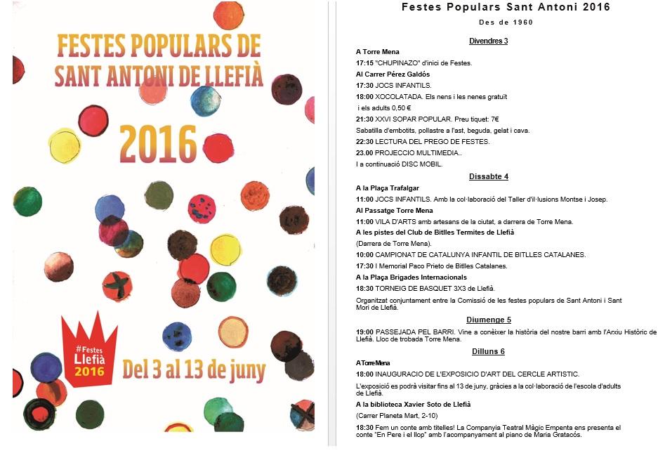 Fiestas Llefia2016